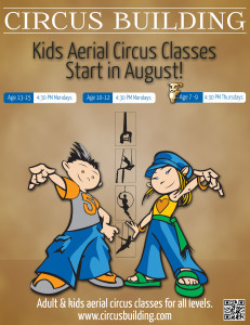 Kids Aerial Circus Classes at Aerial Fit