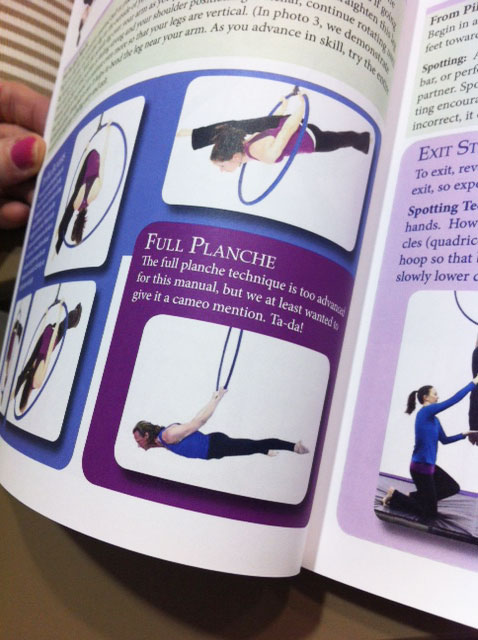 Rebekah Leach's Aerial Hoop Manual