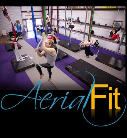 Aerial Fit Circus Classes, Charleston SC